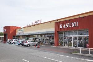 カスミみどりの駅前店(約650m)